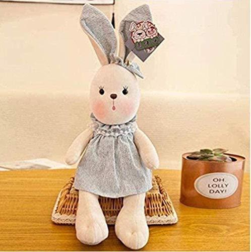 N-R Lindo conejo de peluche de juguete super suave muñeca niño niña cumpleaños día de San Valentín s 35cm