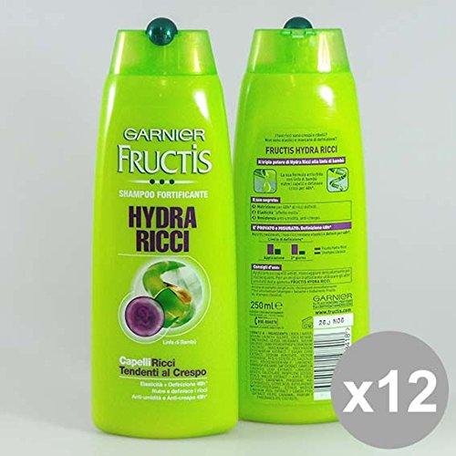 Set 12 FRUCTIS Shampoo 250 Hydra Ricci Prodotti per capelli