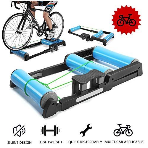 Entraîneur de vélo pliable - Rouleaux de vélo...