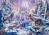 HJHJHJ Jigsaw Puzzle Wolf Pack Castle 2000 Piezas Adultos Niños Rompecabezas de Papel Rompecabezas 3D Clásico Rompecabezas Juegos Rompecabezas DIY Coleccionables Decoración Moderna del hogar 100x70cm