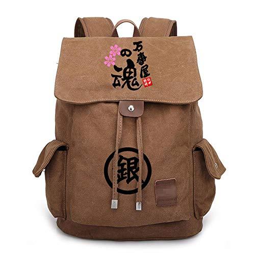 Japan Anime Gintama Cosplay Schulrucksack Jugendliche Daypack Schüler Schultasche Lässig Rucksack B