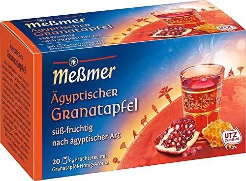 Meßmer Ägyptischer Amun, Granatapfel-Honig 20 Teebeutel, 50 g Packung, 267704