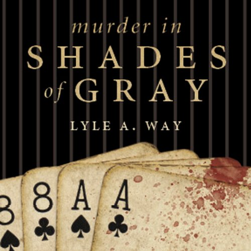 Murder in Shades of Gray audiobook cover art