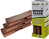 RESCUE! Spider Traps – Ready to Use, Double-Sided – 3 Pack