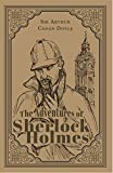 The Adventures of Sherlock Holmes; Sir Arthur Conan Doyle Classic Novel, (Mystery, Crime Solving), Ribbon Page Marker, Perfect for Gifting