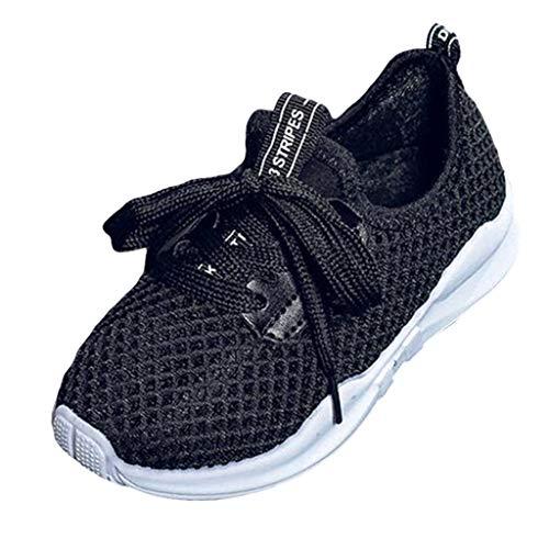 yotijar Zapatos de verano informales deportivos para niños, zapatillas de gimnasia de malla para exteriores Size: Bianco 30