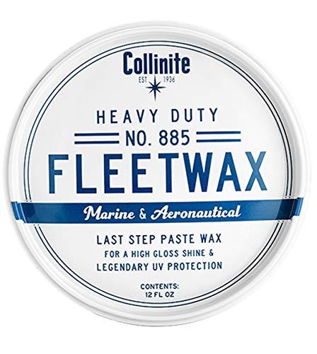 Collinite 885 Heavy Duty Paste Fleetwax, 12 oz.