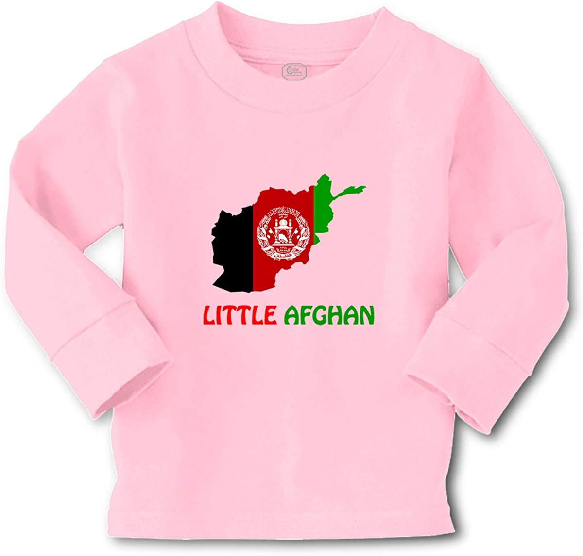 Cute Rascals Kids Long Sleeve T Shirt Little Afghan Countries Cotton Boy & Girl Clothes