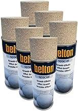 Belton - Espray de efecto granito (6 unidades, 0,4 L), color marrón