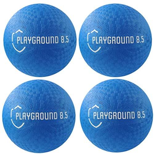 Playground Balls 8.5 - Dodgeball, Kickball 4-Pack