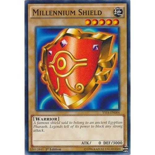 YU-GI-OH! - Millennium Shield (YS14-EN004) - Super Starter - Space-Time Showdown - 1st Edition - Common