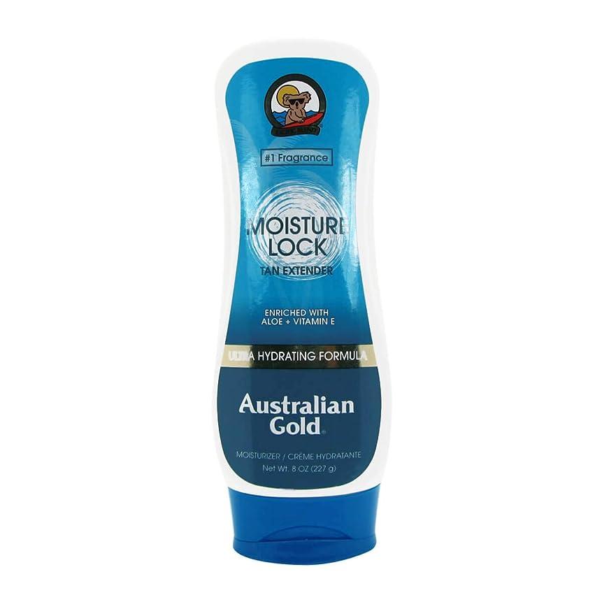 一時解雇する高度動くオーストラリアンゴールドモイスチャーロックタンエクステンダーアフターサン237ml