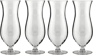 Libbey Infinium Reusable Tritan Plastic Hurricane Cocktail Glass - 16 oz - Set of 4