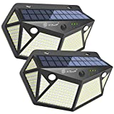SiFarJP 360LED センサーライト 屋外 2つセンサー 指示ランプ 6面発光 ソーラー ソーラーライト 人感センサーライト 4つ知能モード 人感センサー ガーデンライト ライト 防犯 IP65 防水 玄関/駐車場/庭先 2個セット