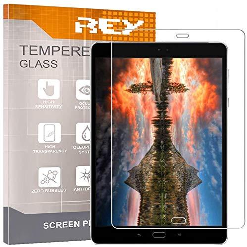 REY Pack 2X Pellicola salvaschermo per ASUS ZENPAD 3S - Z500M 10 (9.7 ), Pellicole salvaschermo Vetro Temperato 9H+, di qualità Premium Tablet
