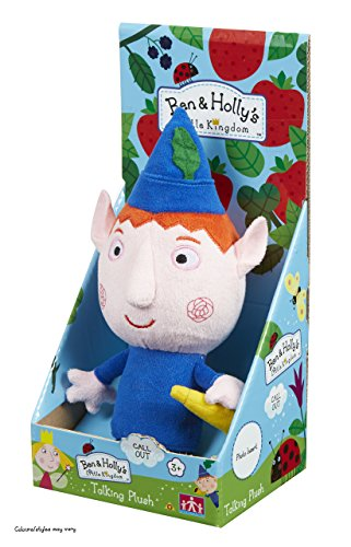 Character Options Ben & Holly's Little Kingdom 18cm Talking Ben Soft Plush Toy
