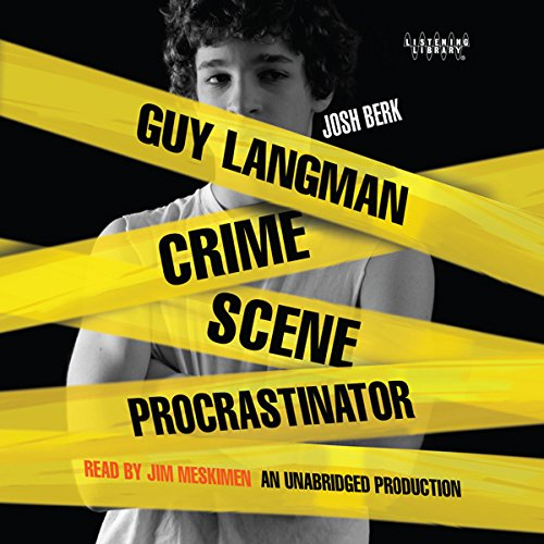 Guy Langman, Crime Scene Procrastinator audiobook cover art