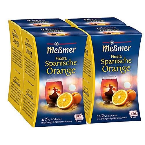 Meßmer Fiesta Spanische Orange 4er Pack