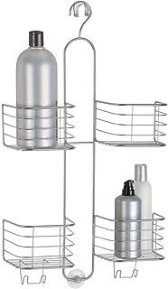 mDesign Panier de Douche pour shampoing, Gel Douche, Savon – Une étagère Douche Pratique et Facile à Installer – Accessoir...