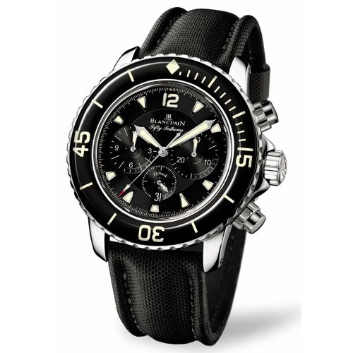 Blancpain Men's 5085F.1130.52 Fifty Fathom Automatic Flyback Chronograph Watch