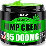 Hemp Pain Relief Cream - 95 000MG - Relieves Muscle, Joint Pain, Lower