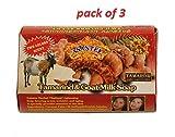 (3Stück) Asantee–Herbal Thailand Tamarinde & Ziegenmilch Whitening/Lightening Seife 125g,...