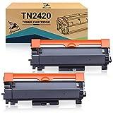 FITU WORK Cartuchos de Toner Compatible para Brother TN2420 TN2410 para MFC-L2710DW HL-L2350DW MFC-L2710DN MFC-L2730DW MFC-L2750DW HL-L2310D HL-L2370DN HL-L2375DW DCP-L2510D DCP-L2350DW DCP-L2550DN