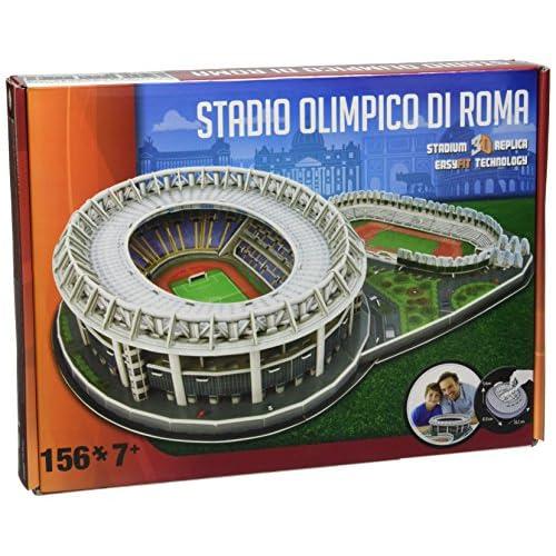 Giochi Preziosi - Nanostad Puzzle 3D, Stadio Olimpico Roma