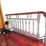 Malla de seguridad, de BTSKY, para protección infantil, para balcones y barandillas de escaleras, impermeable, resistente Talla:3 M