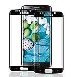 SNUNGPHIR® Cristal Templado Samsung Galaxy S7 Edge Protector Pantalla Samsung S7 Edge Vidrio...