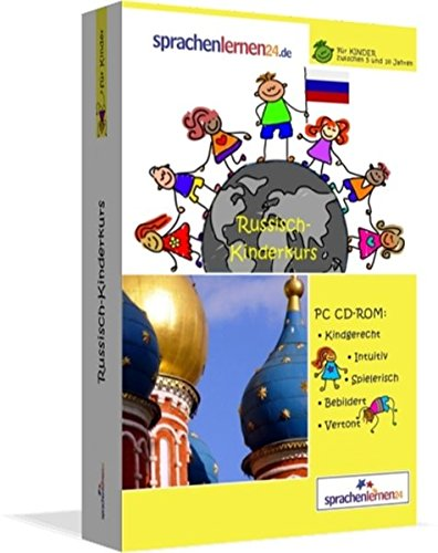 Russisch-Kindersprachkurs von Sprachenlernen24.de: Kindgerecht bebildert und vertont für ein spielerisches Russischlernen. Ab 5 Jahren. PC CD-ROM für Windows 8,7,Vista,XP / Linux / Mac OS X