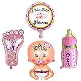 JJ PRIME 50200 JJ PRIME-4 globos de helio para decoración de bautizo, diseño...