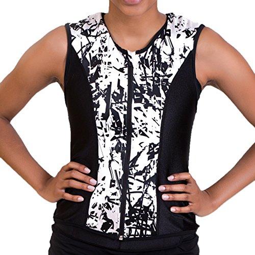 Challenge Weighted Workoutwear - Gewichtswesten in schwarz / weiß, Größe S