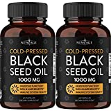Black Seed Oil - 2 Pack - 120 Softgel Capsules (Non-GMO & Vegetarian) Premium Cold-Pressed Nigella Sativa Producing Pure Black Cumin Seed Oil by New Age