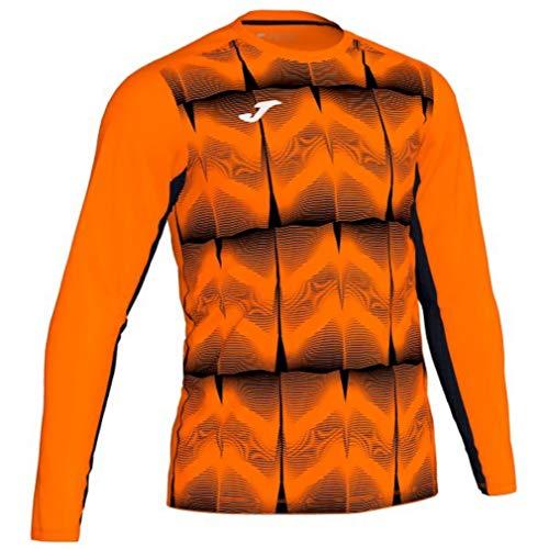 Joma Camiseta M/L Portero Derby IV 101301 Naranja Fashion Camiseta para Hombre, 101301_051_L, Arancio, L
