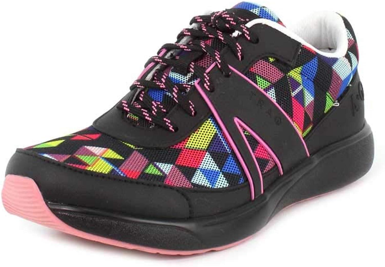 TRAQ BY ALEGRIA Qarma Womens Smart Walking shoes Right Angle Multi 11 M US
