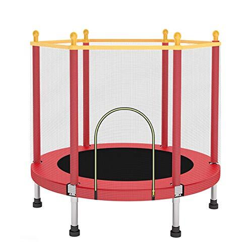 Home store Camas Elasticas, Trampolín de Jardín, Trampolín para niños, Mini trampolín, con Red de Seguridad, 1,4 m de diámetro, Carga máxima 250 kg, Apto para niños