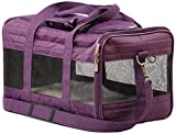 Sherpa Travel Original Deluxe Airline Approved Pet Carrier, Plum, Medium (Frustration Free Packaging) (55544)
