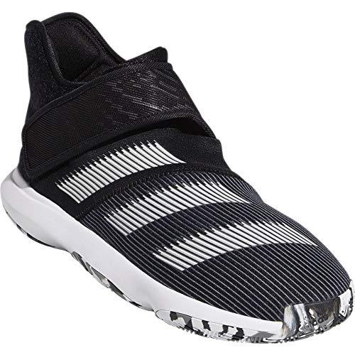 Adidas Harden B/E 3, Zapatillas de Baloncesto Hombre, Negro (Negbás/Ftwbla/Gricin 000), 54 2/3 EU