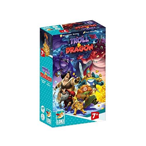 Loki 514753 Troll und Dragon Kinderspiel