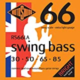 Rotosound RS66LA Swing Bass 66 Stainless Steel Bass Guitar Strings (30 50 65 85)
