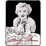 Silver Buffalo MR3627 Marilyn Monroe Ballerina Dress Plush Throw Blanket, 50 in. x 60 in.
