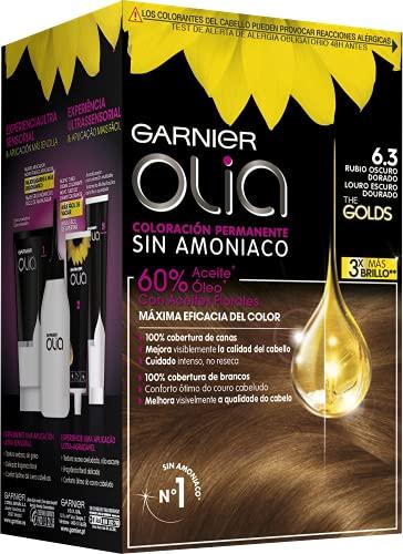 Garnier Olia Coloración Permanente Sin Amoniaco Para Un Olor Agradable Con Aceites Florales De...