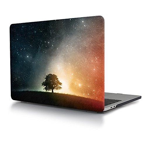 Cover macbook pro 15 touch bar, TwoL Custodia Protettiva Rigida per MacBook Pro 15 2016 2017 (Modello: A1707), Stella