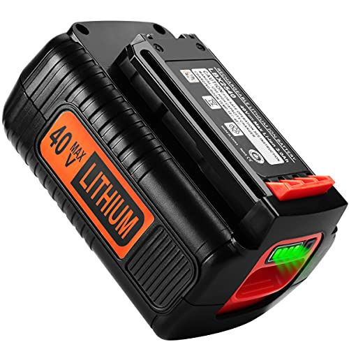 ANTRobut Upgrade 3000mAh 40 Volt Max Lithium Battery Replacement for Black and Decker 40V Battery LBX2040 LBXR36 LBXR2036 LST540 LCS1240 LBX1540 LST136W