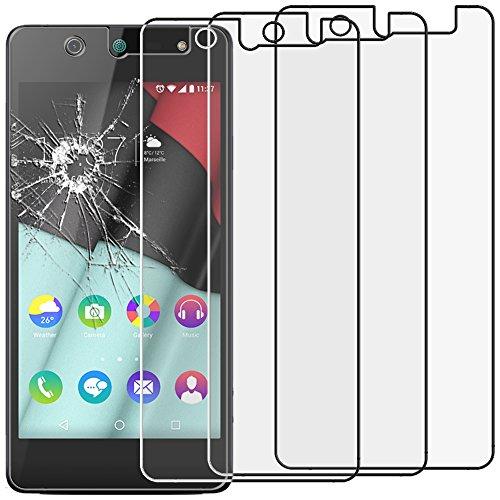 ebestStar - kompatibel mit Wiko Selfy 4G x3 Panzerglas Schutzfolie Glas, Schutzglas Bildschirmschutz, Bildschirmschutzfolie 9H gehärtes Glas [: 141 x 68.4 x 7.7mm, 4.8'']