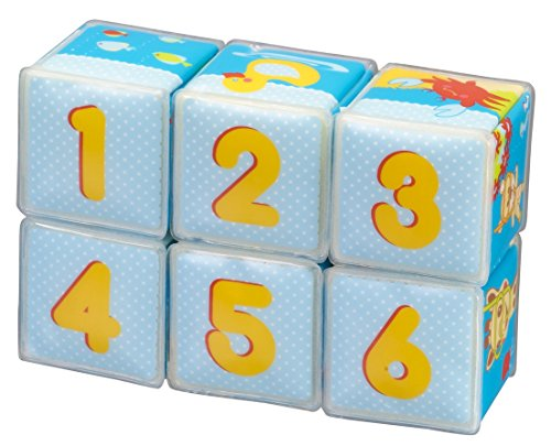 Vulli - Fresh Touch - Sophie la Girafe - Lot de 6 Cubes de Bain