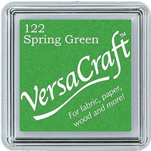 VersaCraft vks-122Stempel Stoff, kleiner Cube 25x 25mm grün Frühling