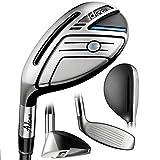 Adams Golf Men's New Idea Hybrid Club, Left Hand, Graphite, Senior Flex, 19-Degree, #3