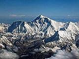 Amnogu Rompecabezas De Madera De 1000 Piezas MT.Everest Large Puzzle Game para Adultos Y Adolescentes 75x50cm